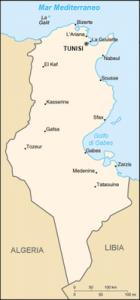 Mappa Tunisia